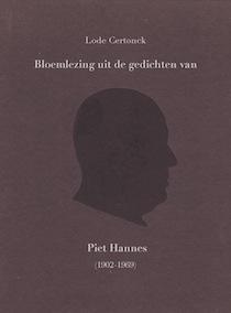 Bloemlezing uit de gedichten van Piet Hannes, voorplat