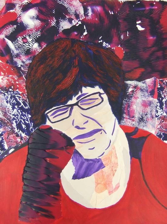 schilderij Elly van der Horst