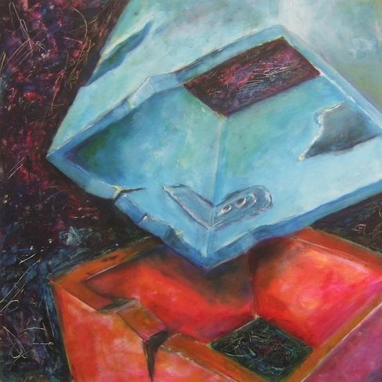 schilderij Frank Jacobs