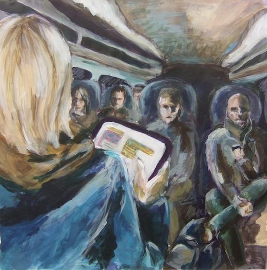 schilderij Nienke Eckhardt